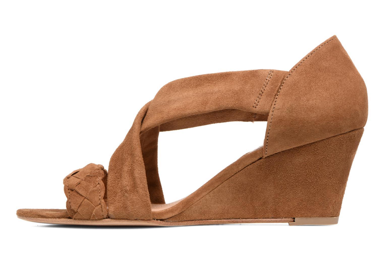 Sandali e scarpe aperte COSMOPARIS Vika/Tre Marrone immagine frontale