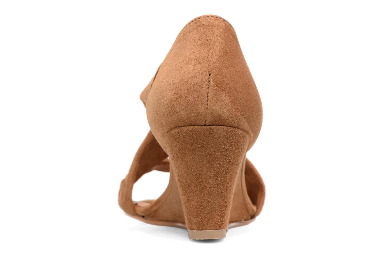 Sandali e scarpe aperte COSMOPARIS Vika/Tre Marrone immagine destra