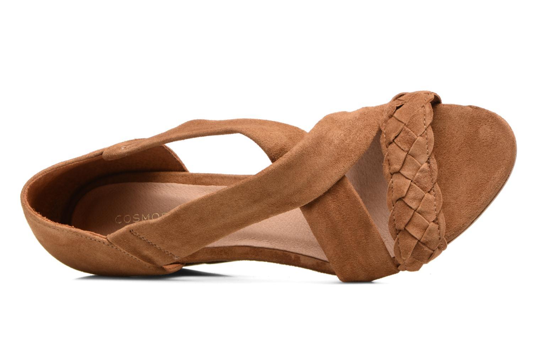 Sandali e scarpe aperte COSMOPARIS Vika/Tre Marrone immagine sinistra