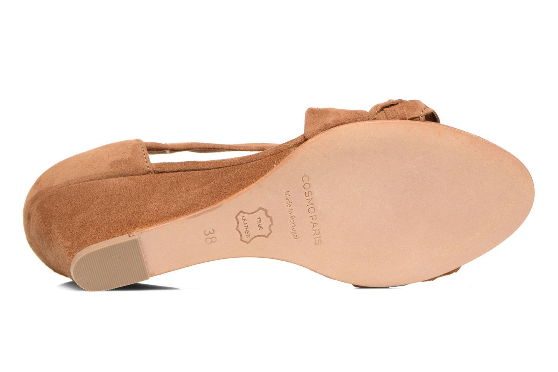 Sandali e scarpe aperte COSMOPARIS Vika/Tre Marrone immagine dall'alto
