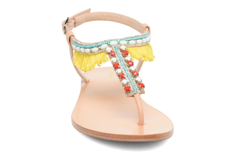 Sandales et nu-pieds COSMOPARIS Kania Multicolore vue portées chaussures