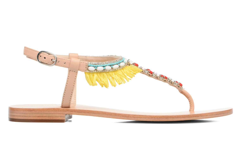 Sandales et nu-pieds COSMOPARIS Kania Multicolore vue derrière