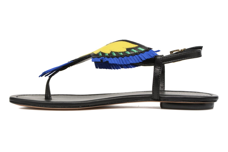 Sandales et nu-pieds COSMOPARIS Jing Noir vue face