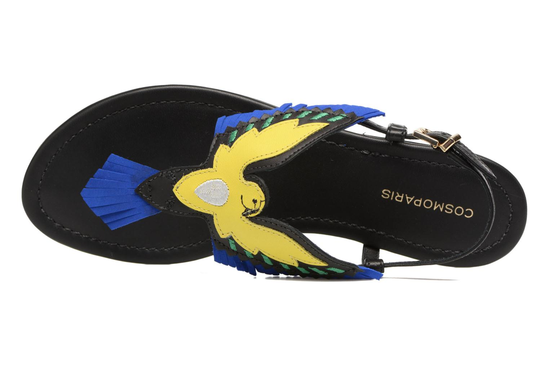 Sandales et nu-pieds COSMOPARIS Jing Noir vue gauche