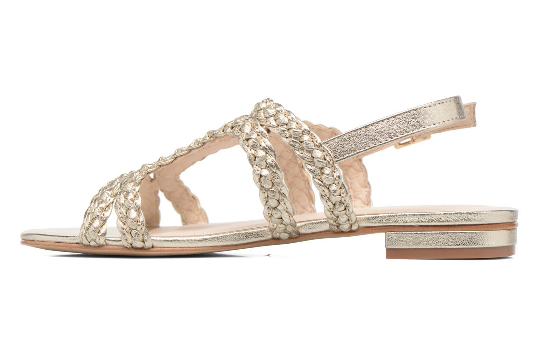 Sandali e scarpe aperte COSMOPARIS Lolia/Met Oro e bronzo immagine frontale