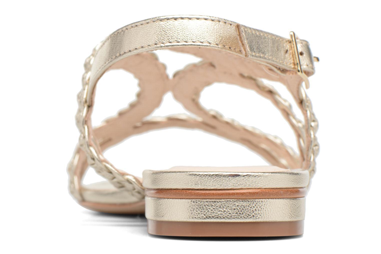 Sandali e scarpe aperte COSMOPARIS Lolia/Met Oro e bronzo immagine destra
