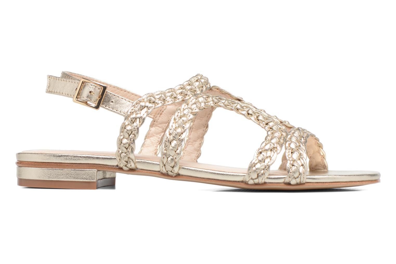 Sandali e scarpe aperte COSMOPARIS Lolia/Met Oro e bronzo immagine posteriore