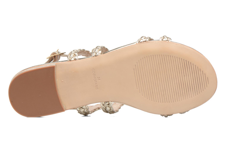 Sandali e scarpe aperte COSMOPARIS Lolia/Met Oro e bronzo immagine dall'alto
