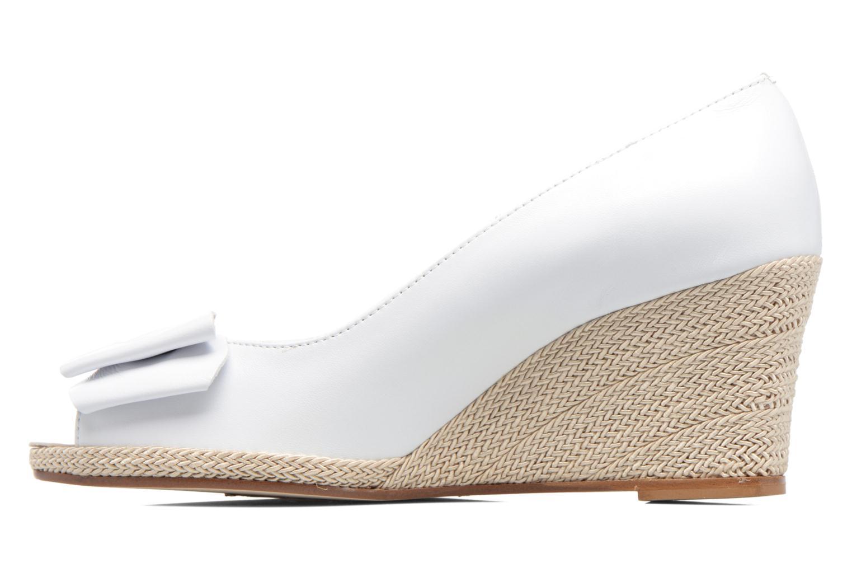 High heels COSMOPARIS Loena White front view