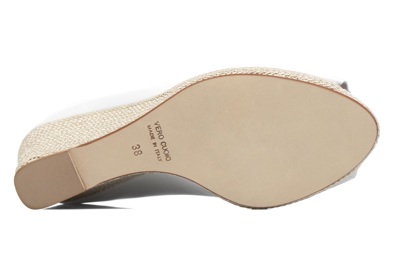 High heels COSMOPARIS Loena White view from above