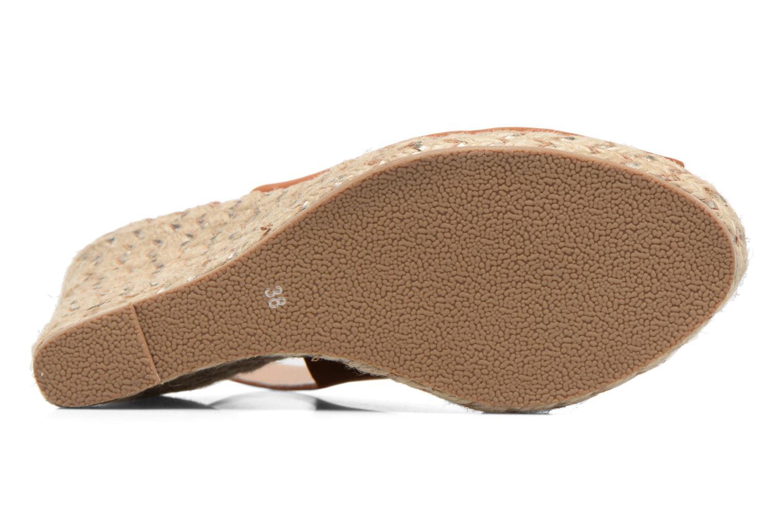 Sandali e scarpe aperte COSMOPARIS Lany Marrone immagine dall'alto