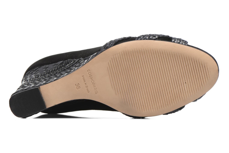 High heels COSMOPARIS Avimi Black view from above