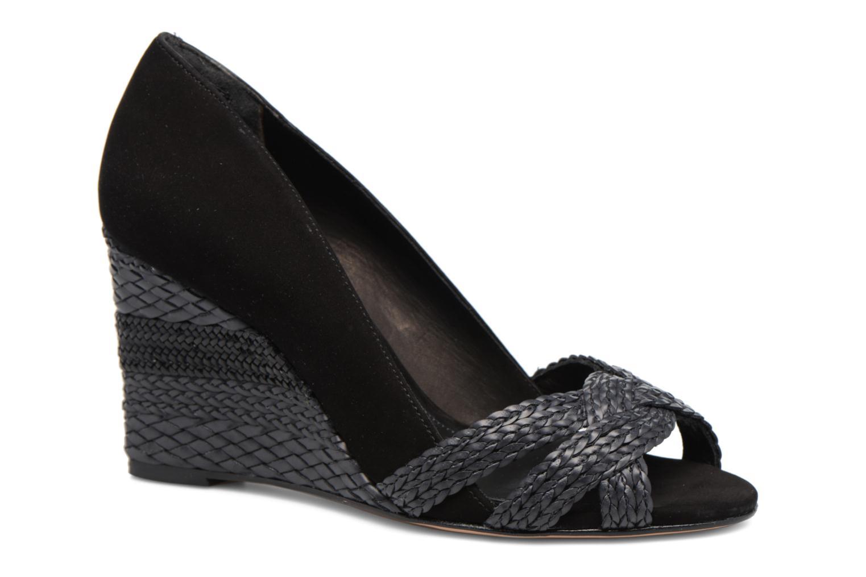 High heels COSMOPARIS Avimi Black detailed view/ Pair view