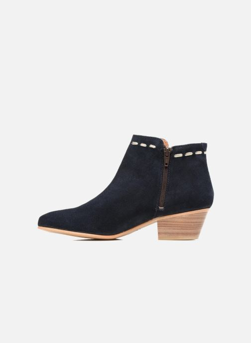 Boots en enkellaarsjes COSMOPARIS Fenoa/Vel Blauw voorkant