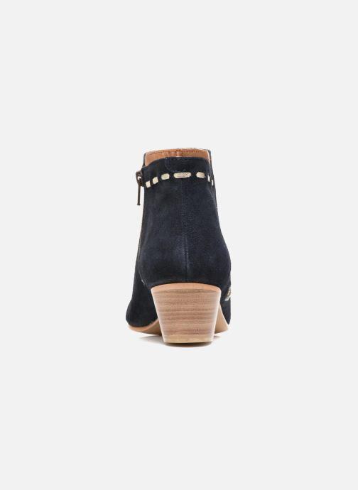 Boots en enkellaarsjes COSMOPARIS Fenoa/Vel Blauw rechts