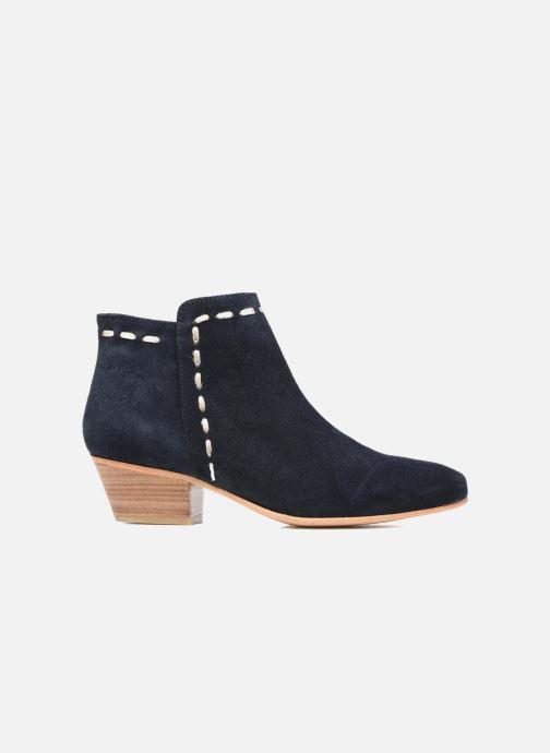 Boots en enkellaarsjes COSMOPARIS Fenoa/Vel Blauw achterkant