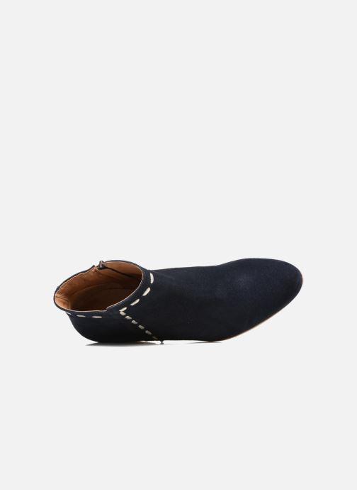 Boots en enkellaarsjes COSMOPARIS Fenoa/Vel Blauw links