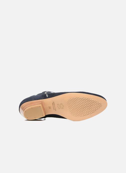 Boots en enkellaarsjes COSMOPARIS Fenoa/Vel Blauw boven