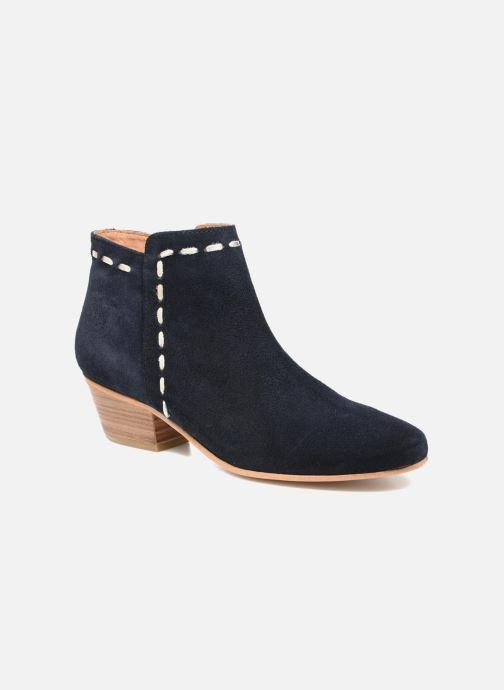 Boots en enkellaarsjes COSMOPARIS Fenoa/Vel Blauw detail