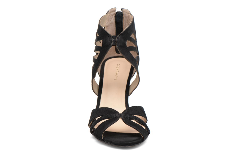Sandales et nu-pieds COSMOPARIS Jaza/Bi Noir vue portées chaussures