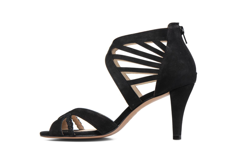 Sandales et nu-pieds COSMOPARIS Jaza/Bi Noir vue face