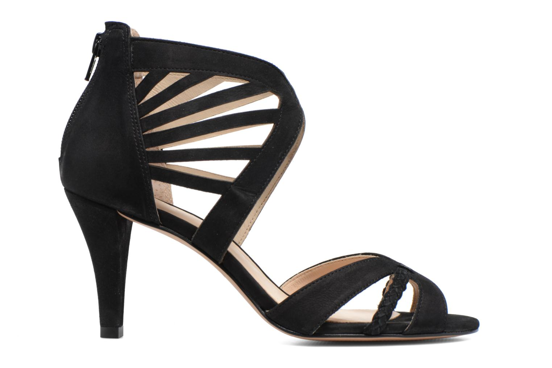 Sandales et nu-pieds COSMOPARIS Jaza/Bi Noir vue derrière