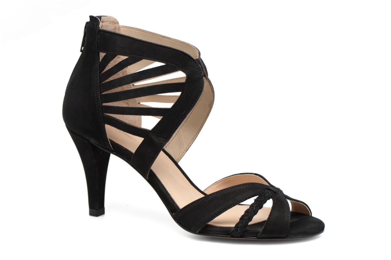 Sandales et nu-pieds COSMOPARIS Jaza/Bi Noir vue détail/paire