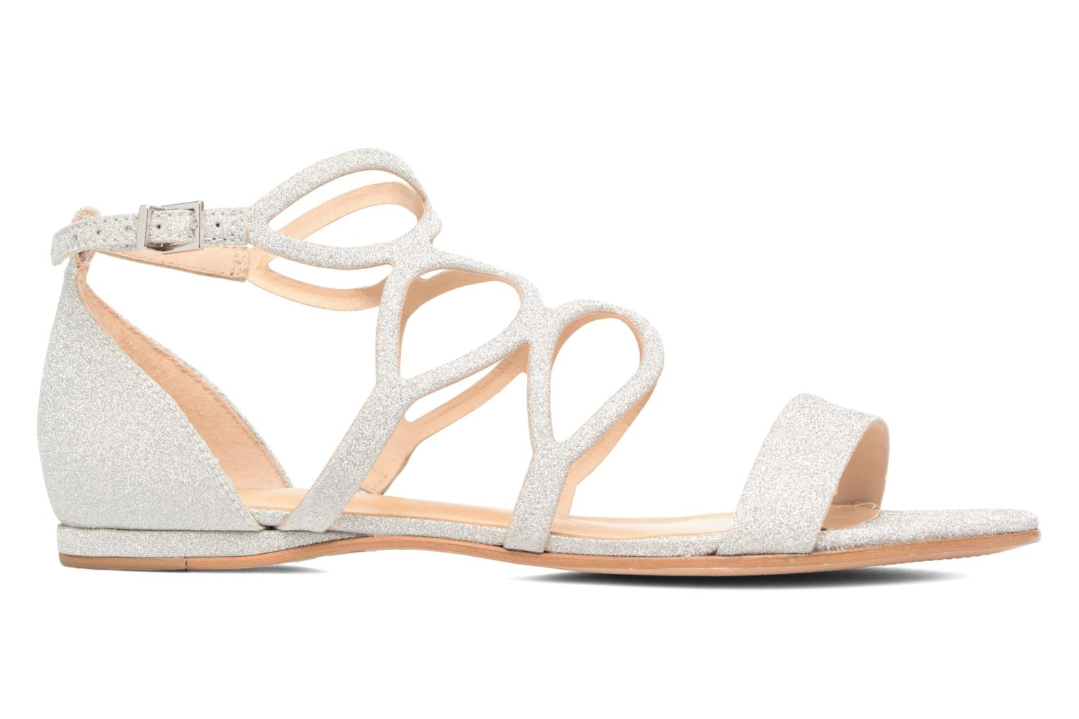 Sandals COSMOPARIS Alinoa/Diam Silver back view