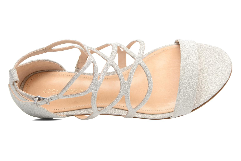 Sandali e scarpe aperte COSMOPARIS Alinoa/Diam Argento immagine sinistra