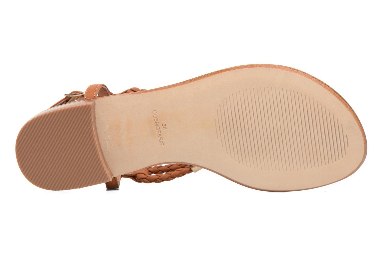 Sandales et nu-pieds COSMOPARIS Heloa/Tre Marron vue haut
