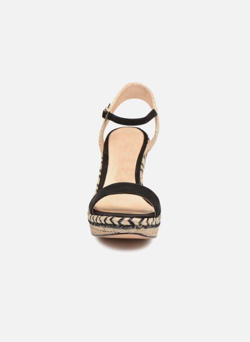 Et Chez Cosmoparis Sandales Agaya pieds noir Nu wqnRYtnr8