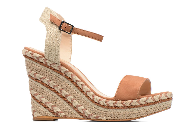 Sandals COSMOPARIS Agaya Brown back view