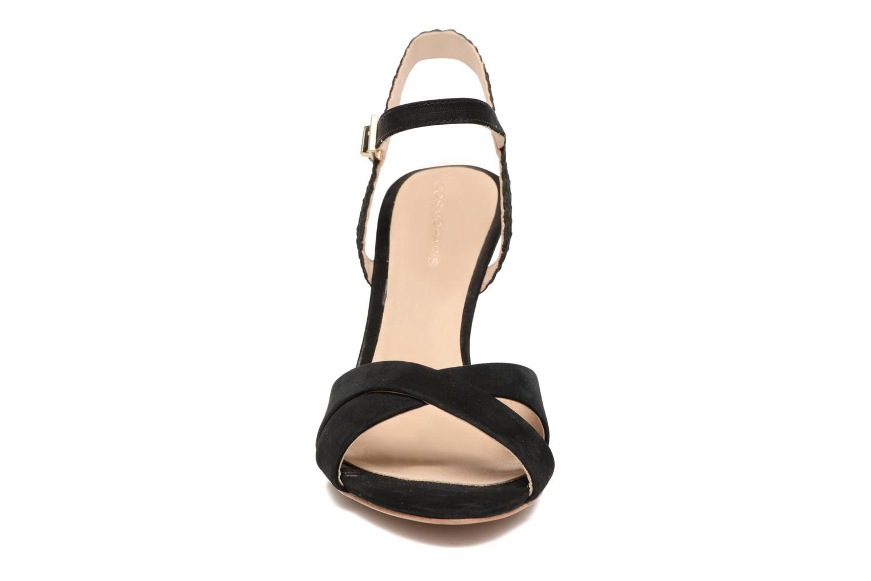 Sandales et nu-pieds COSMOPARIS Jopia/Nub Noir vue portées chaussures
