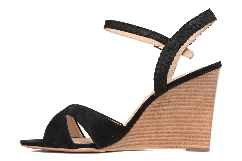 Sandales et nu-pieds COSMOPARIS Jopia/Nub Noir vue face