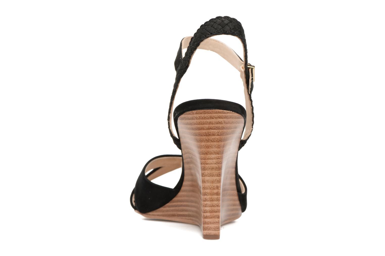 Sandales et nu-pieds COSMOPARIS Jopia/Nub Noir vue droite
