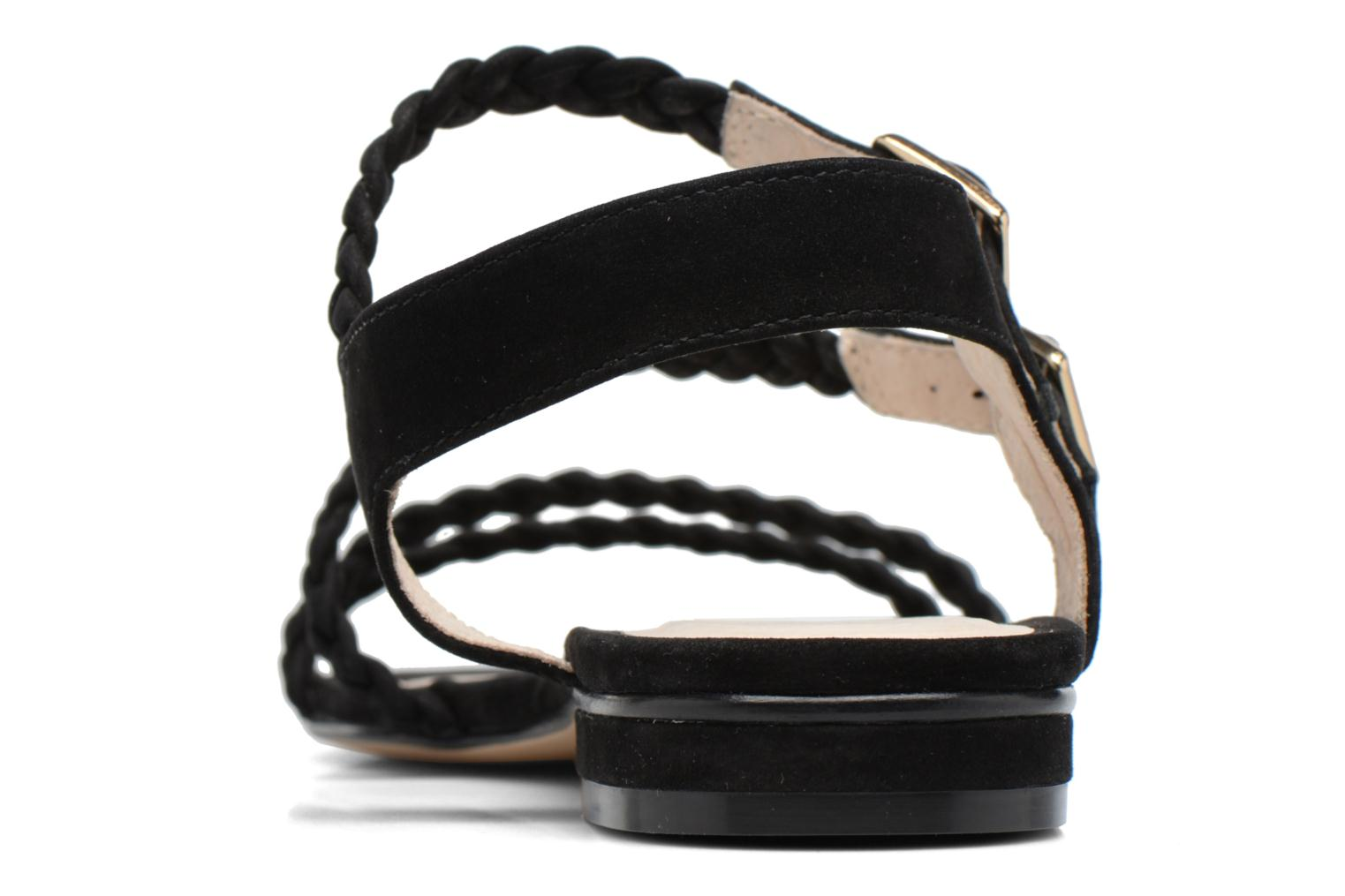 Sandals COSMOPARIS Lessi Black view from the right
