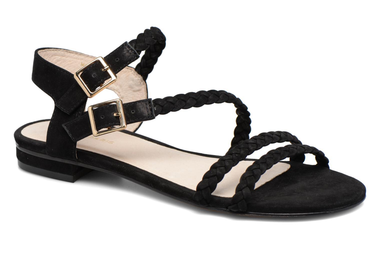 Sandaler COSMOPARIS Lessi Sort detaljeret billede af skoene