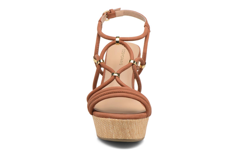 Sandaler COSMOPARIS Carminin/Nub Brun se skoene på
