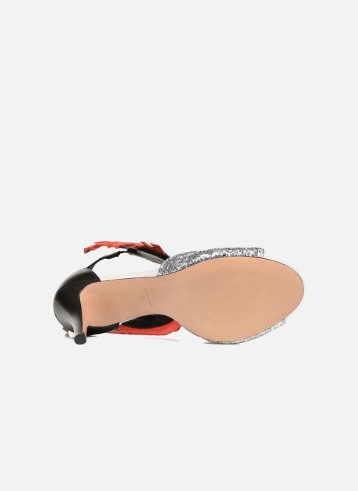 Sandalias COSMOPARIS Jelana/Glit Negro vista de arriba