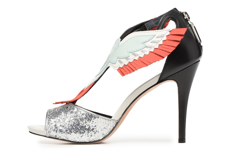 Sandali e scarpe aperte COSMOPARIS Jelana/Glit Nero immagine frontale