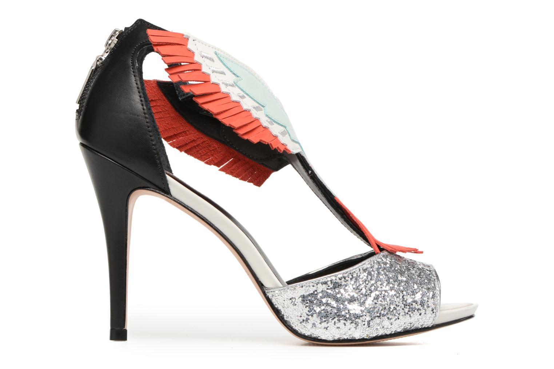 Sandales et nu-pieds COSMOPARIS Jelana/Glit Noir vue derrière