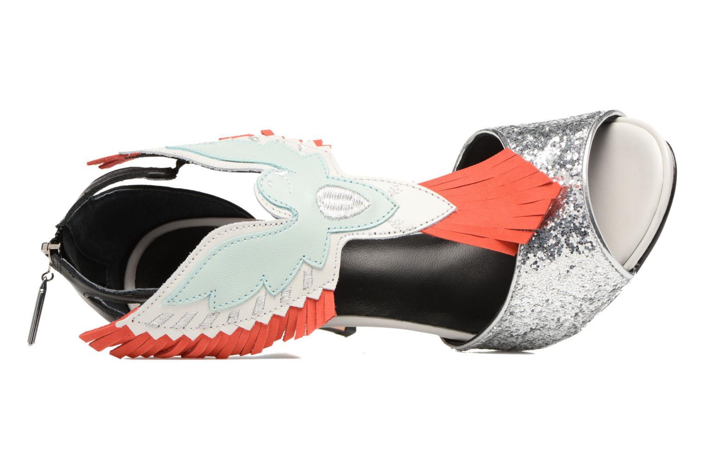 Sandali e scarpe aperte COSMOPARIS Jelana/Glit Nero immagine sinistra