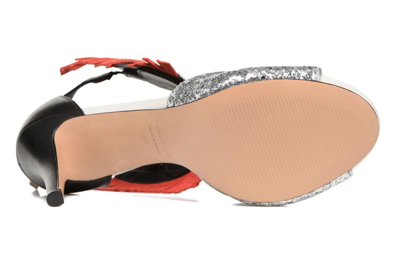 Sandali e scarpe aperte COSMOPARIS Jelana/Glit Nero immagine dall'alto