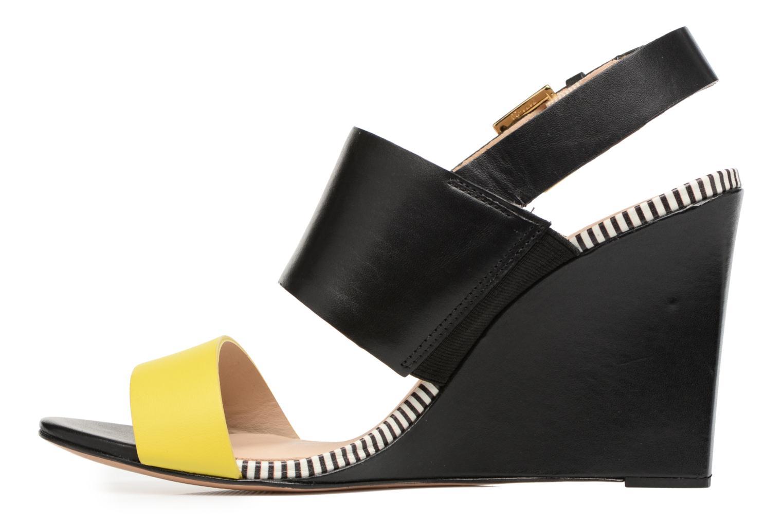 Sandali e scarpe aperte COSMOPARIS Jaka/Nub Nero immagine frontale
