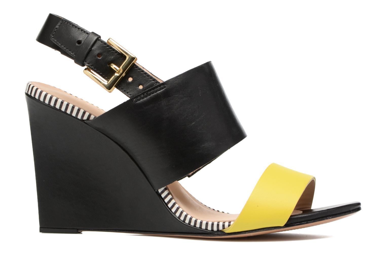 Sandalen COSMOPARIS Jaka/Nub Zwart achterkant