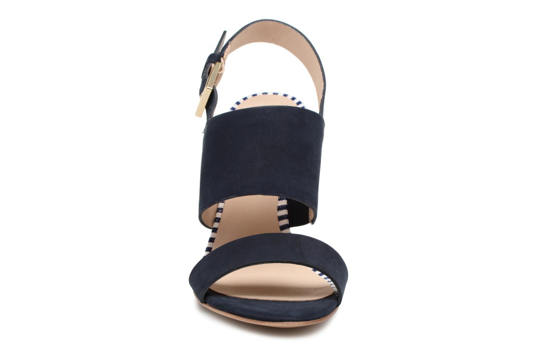 Sandalen COSMOPARIS Jaka/Nub blau schuhe getragen