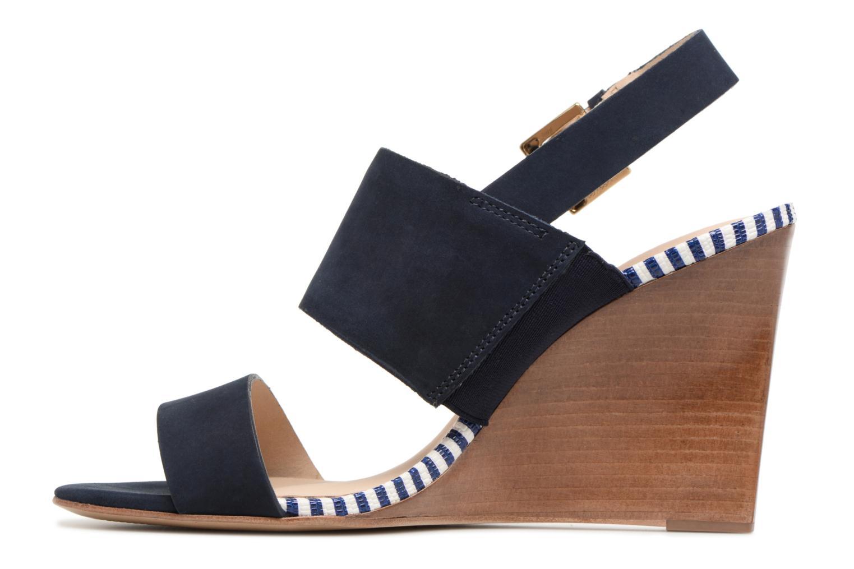 Sandalen COSMOPARIS Jaka/Nub blau ansicht von vorne