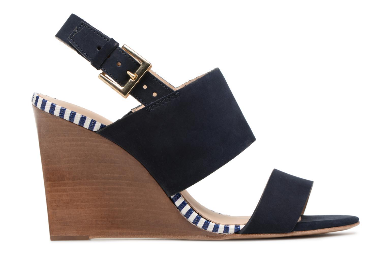 Sandalen COSMOPARIS Jaka/Nub blau ansicht von hinten