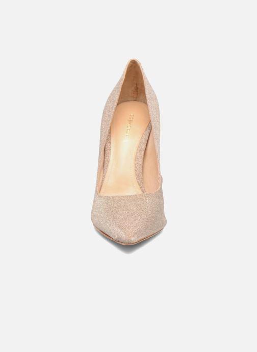 Escarpins COSMOPARIS Aelia/Diam Or et bronze vue portées chaussures