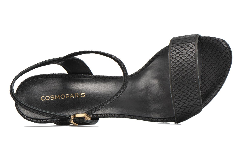 Sandali e scarpe aperte COSMOPARIS Jadia/Pyt Nero immagine sinistra